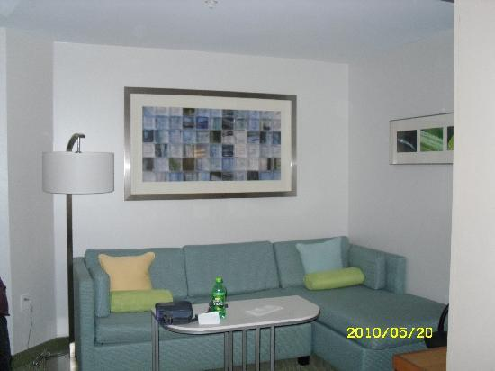 SpringHill Suites by Marriott Sioux Falls: sitting area