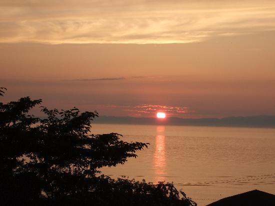 Kaikatei Kawai: ロービーからの、夕日