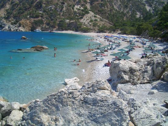 Almyra Village: Apela beach