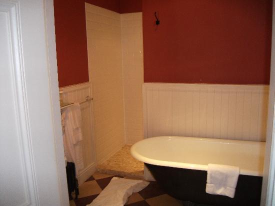 Castle Leslie Estate: quaint bathroom
