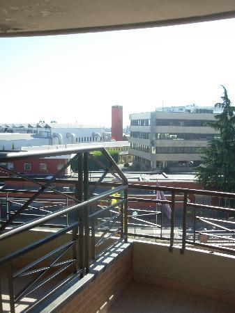 Planet Hotel: la terrazza della camera