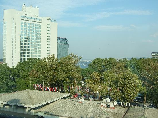 View from Roof Garden of Hotel