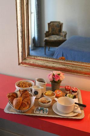 Le petit-déjeuner Hôtel Royal Wilson