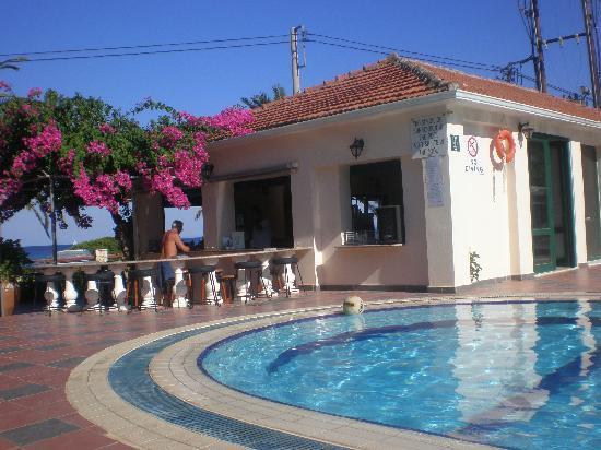 Tara Beach Hotel: Hotel pool bar
