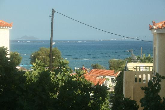 Agrilionas Beach Apartments: The view from our room.