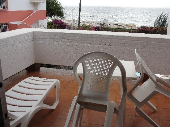 Residence Aida Apartamentos: Der Balkon