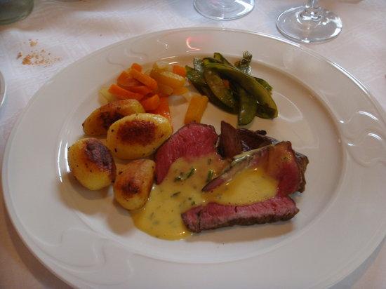 Restaurant Gotthard: Leckeres Mittelstück vom US-Beef
