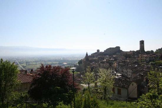Hotel La Meridiana: Panoramica Anghiari