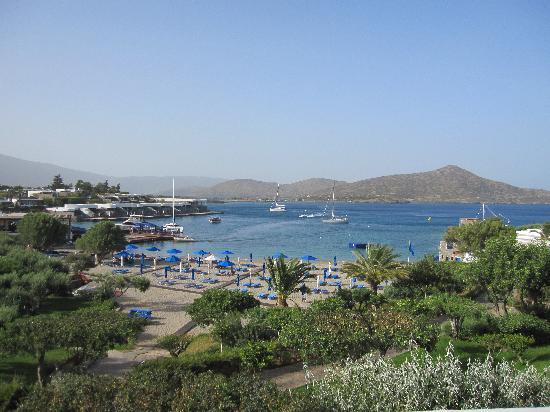Elounda Beach Hotel & Villas: Badebuch des Hotels