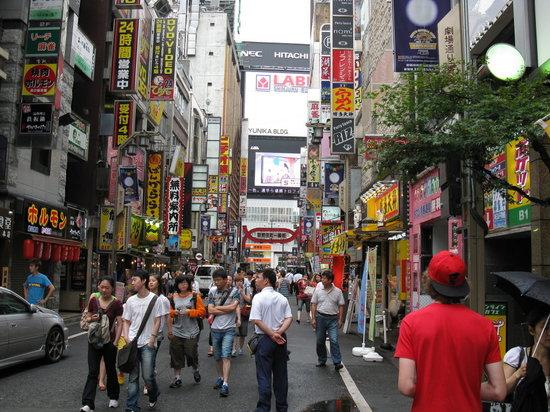Tokyu Stay Suidobashi: Shopping area in Shinjuku, Tokyo