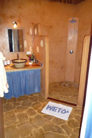 B&B Hotel Sueño Celeste: Salle de bain