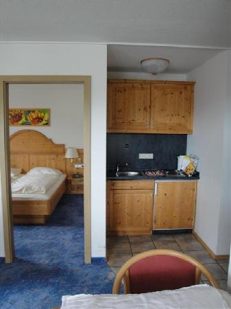 "Feldberg, Duitsland: Our ""junior suite"""