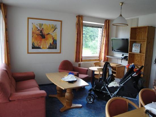 Familien- & Sporthotel Feldberger Hof: Our junior suite.