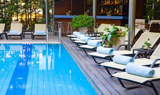 Domotel Les Lazaristes: The outdoor  Pool
