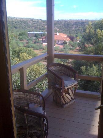 Western Spirit Enrichment Center: View from Western Spirit front porch
