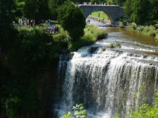 Dundas, แคนาดา: Webster Falls