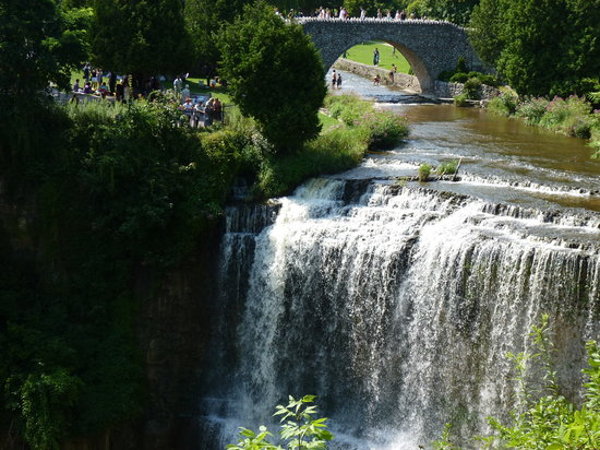 Dundas, Canadá: Webster Falls