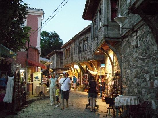 Santa Marina Holiday Village: old town
