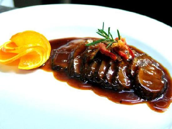Restaurant Colombo : duck a l'orange