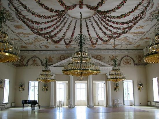 Palais et parc de Pavlovsk : Den Pavillon der Rosen