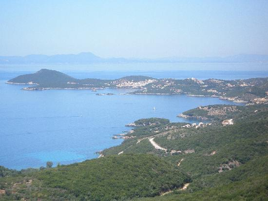 Syvota, Grécia: The view from Perdika village