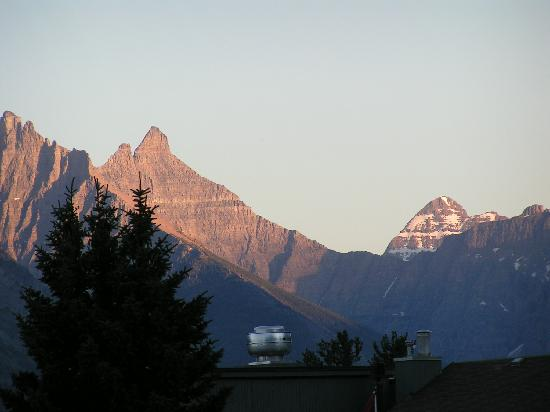 Waterton Glacier Suites: View from balcony
