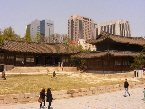 Seul, Korea Południowa: Tempel Seoul