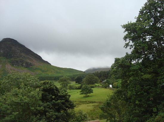 Kirkstile Inn: view from room