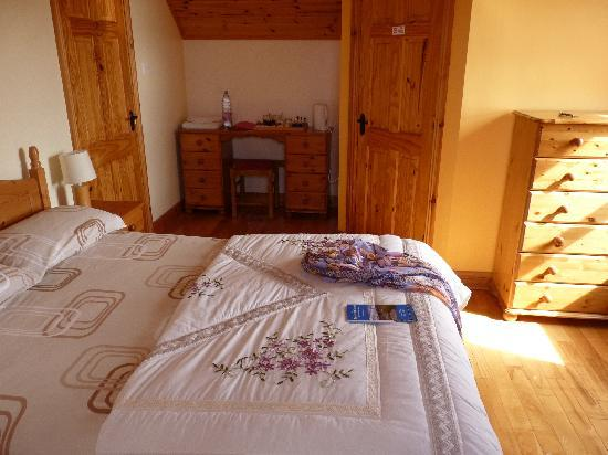 Fanore, Ireland: Bedroom