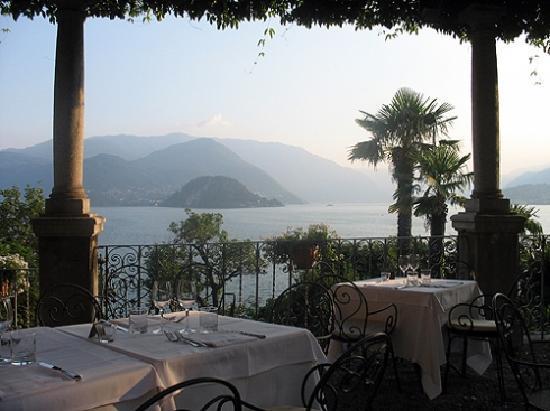 Hotel Villa Cipressi: Terasse des Restaurants