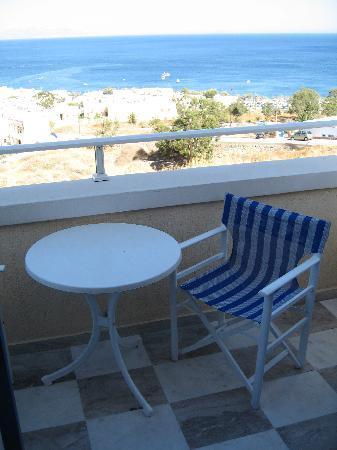 Argo Hotel: Blick vom Balkon