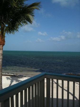 Matecumbe Resort: View from balcony