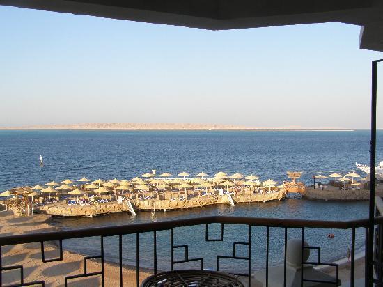 SUNRISE Holidays Resort: vue sur la mer.. ! :)