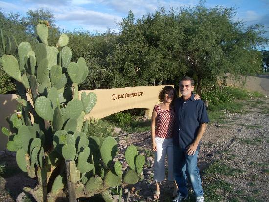 Tubac, AZ: Outside the Entrance
