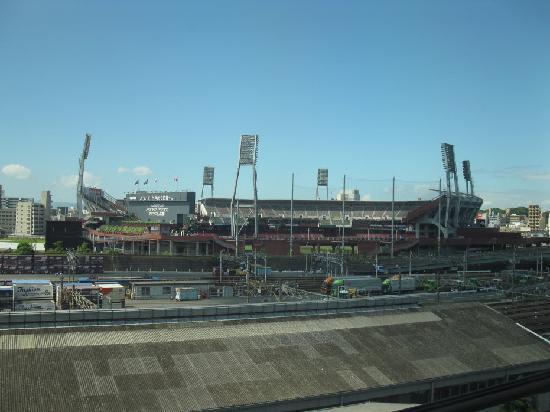 Comfort Inn Hiroshima Heiwa-Odori: Hiroshima Baseball Stadium