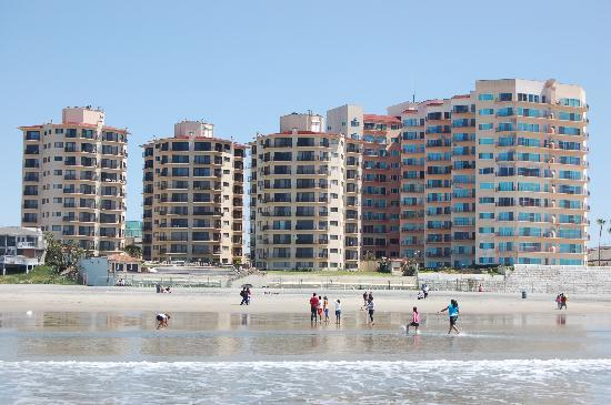 Rosarito Inn from the Ocean