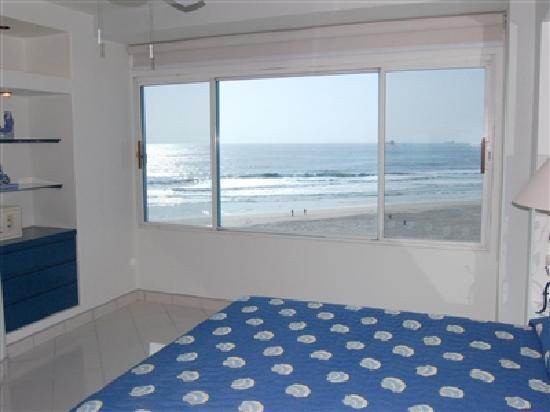 Rosarito Inn Bedroom View