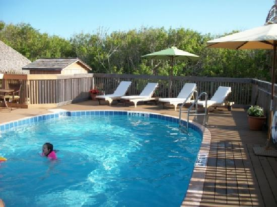 Seashell Suites Resort: Our Private Heated Pool