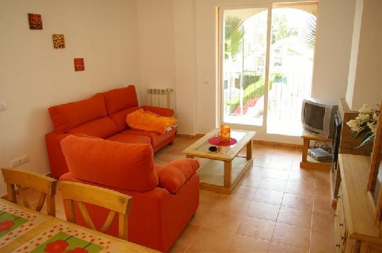 Apartments Concha del Mar: Lounge/dining room