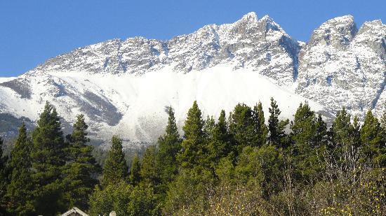 Cabanas La Montana: vista del cerro