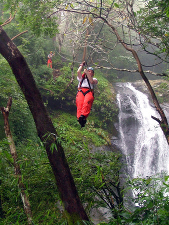 Miramar, Costa Rica: Zip Line over 11 Waterfalls