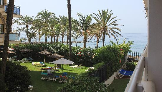 Panoramic viem from the balcony picture of aparthotel puerto azul marbella marbella tripadvisor - Aparthotel puerto azul marbella ...