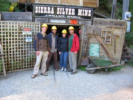 Coeur d'Alene, ID : On a mine tour with our guides