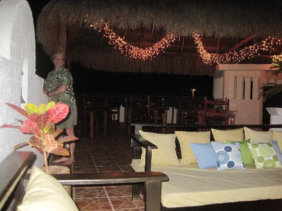 Posada Luna del Sur: rooftop seating