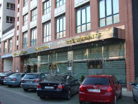 Hotel Albufera: ホテル前