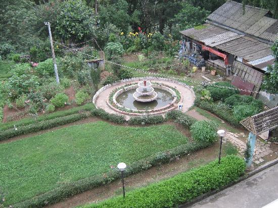 The Shillong Club: garden from balcony