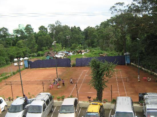 The Shillong Club: tennis ground