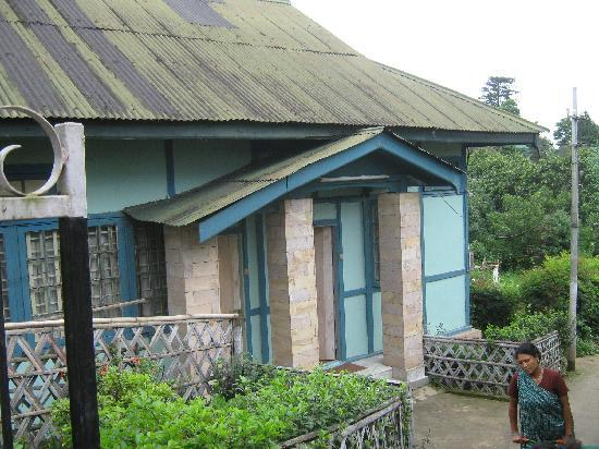 The Shillong Club: cottage front