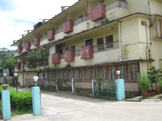 The Shillong Club: outside view