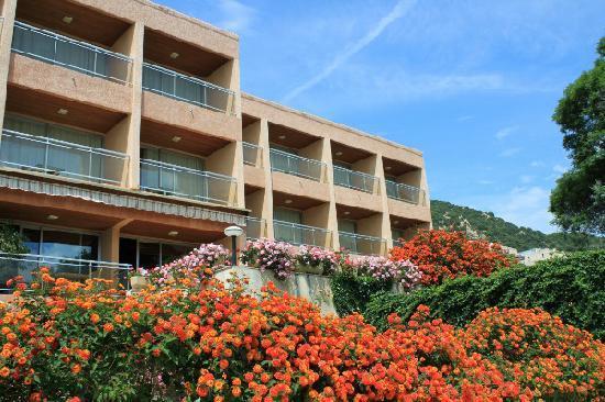 Hotel La Pinede : FACADE SUD